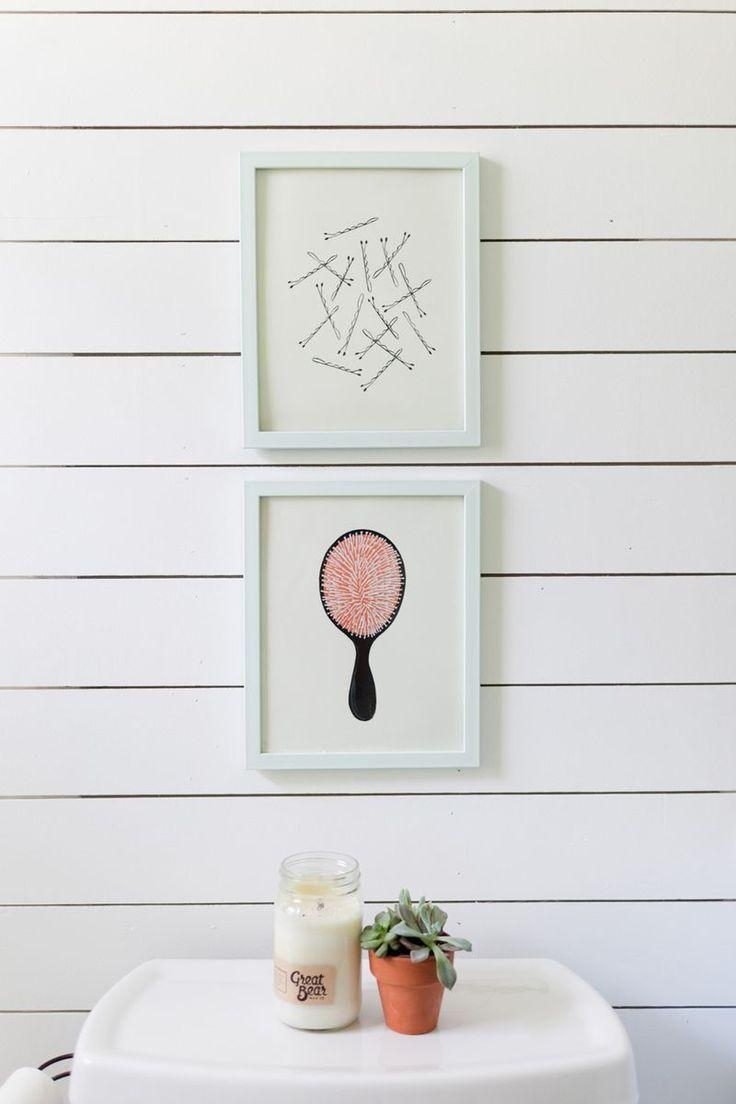 Best 25+ Bathroom Wall Pictures Ideas On Pinterest | Diy Bathroom Within Feminine Wall Art (View 8 of 20)