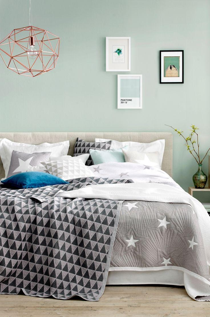 Best 25+ Bedroom Mint Ideas On Pinterest | Mint Bedroom Walls For Wall Art For Green Walls (Image 4 of 20)
