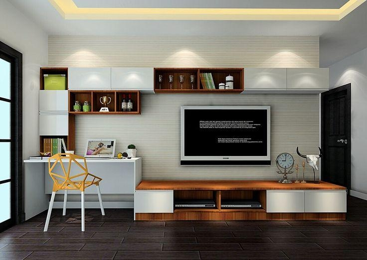 Best 25+ Bedroom Tv Stand Ideas On Pinterest | Apartment Bedroom With 2018 Bedroom Tv Shelves (View 5 of 20)