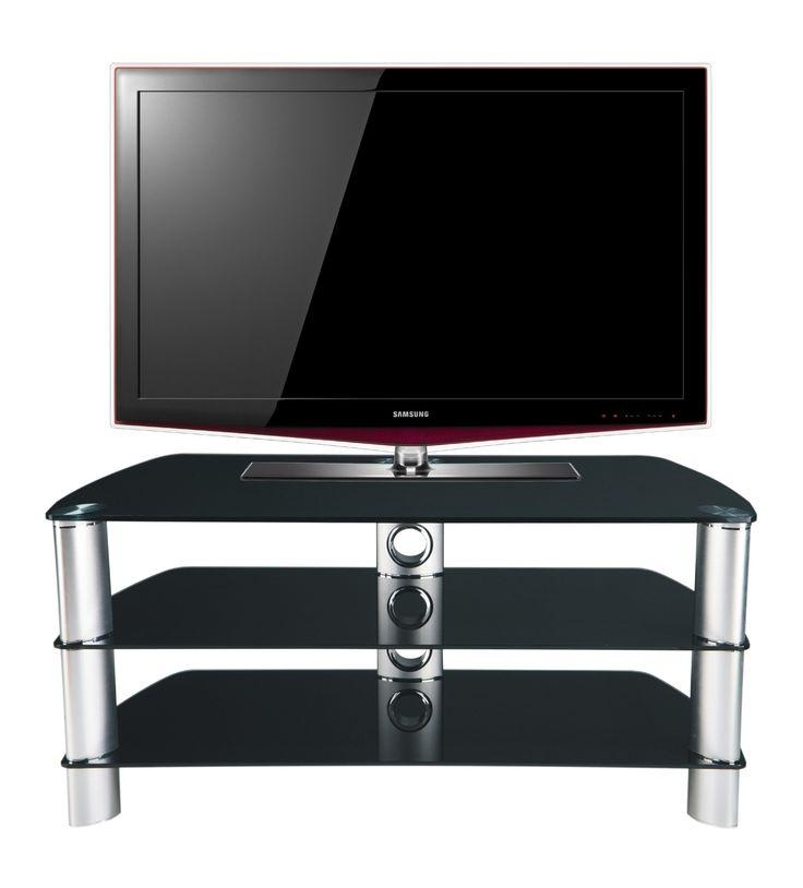 Best 25+ Black Glass Tv Stand Ideas On Pinterest | Glass Tv Stand Regarding Best And Newest Swivel Black Glass Tv Stands (View 8 of 20)
