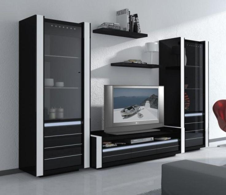 Best 25+ Black Gloss Tv Unit Ideas On Pinterest | White Gloss Tv Pertaining To 2017 Tv Units Black (View 13 of 20)