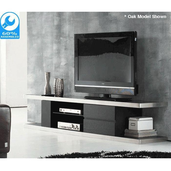 Best 25+ Black Gloss Tv Unit Ideas On Pinterest | White Gloss Tv Regarding Recent Tv Units Black (View 5 of 20)