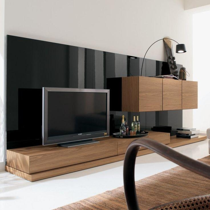 Best 25+ Black Gloss Tv Unit Ideas On Pinterest | White Gloss Tv Throughout Most Up To Date Long Black Tv Stands (Image 4 of 20)