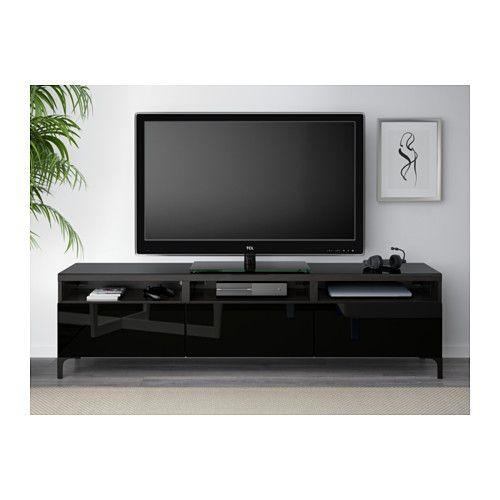 Best 25+ Black Gloss Tv Unit Ideas On Pinterest | White Gloss Tv Within Most Recent Tv Units Black (View 7 of 20)
