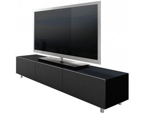Best 25+ Black Tv Cabinet Ideas On Pinterest | Media Wall Unit Pertaining To Most Popular Black Tv Cabinets With Doors (Image 4 of 20)
