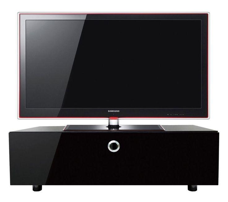 Best 25+ Black Tv Cabinet Ideas On Pinterest | Media Wall Unit With 2017 Black Tv Cabinets With Doors (View 20 of 20)