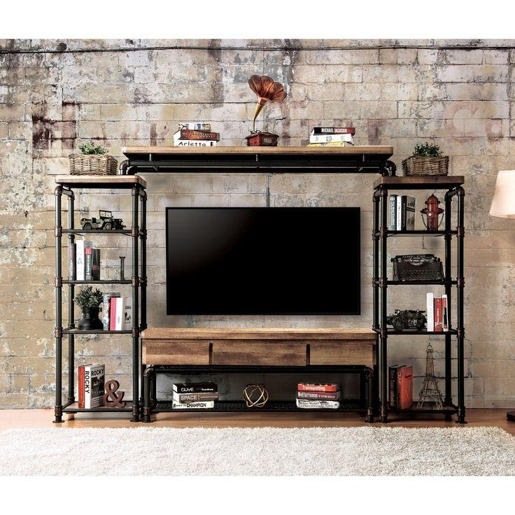 Best 25+ Black Tv Stand Ideas On Pinterest | Tv Stand Bookshelf For Most Current Industrial Style Tv Stands (Image 5 of 20)