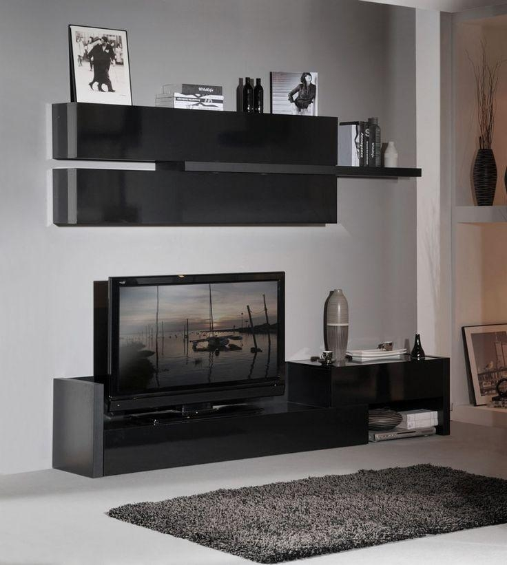 Best 25+ Black Tv Unit Ideas On Pinterest | Tv Unit Images, Tv With Most Popular Tv Units Black (View 19 of 20)