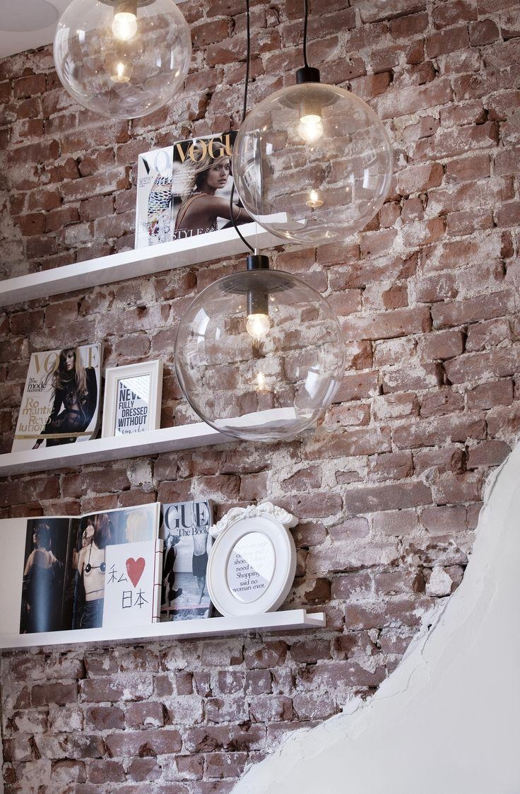 Best 25+ Brick Wall Decor Ideas On Pinterest | Rustic Industrial Throughout Hanging Wall Art For Brick Wall (Image 5 of 20)