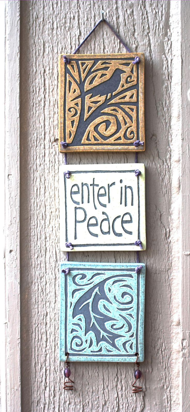 Best 25+ Ceramic Wall Art Ideas On Pinterest | Clay Wall Art, Clay Throughout Italian Ceramic Outdoor Wall Art (View 8 of 20)