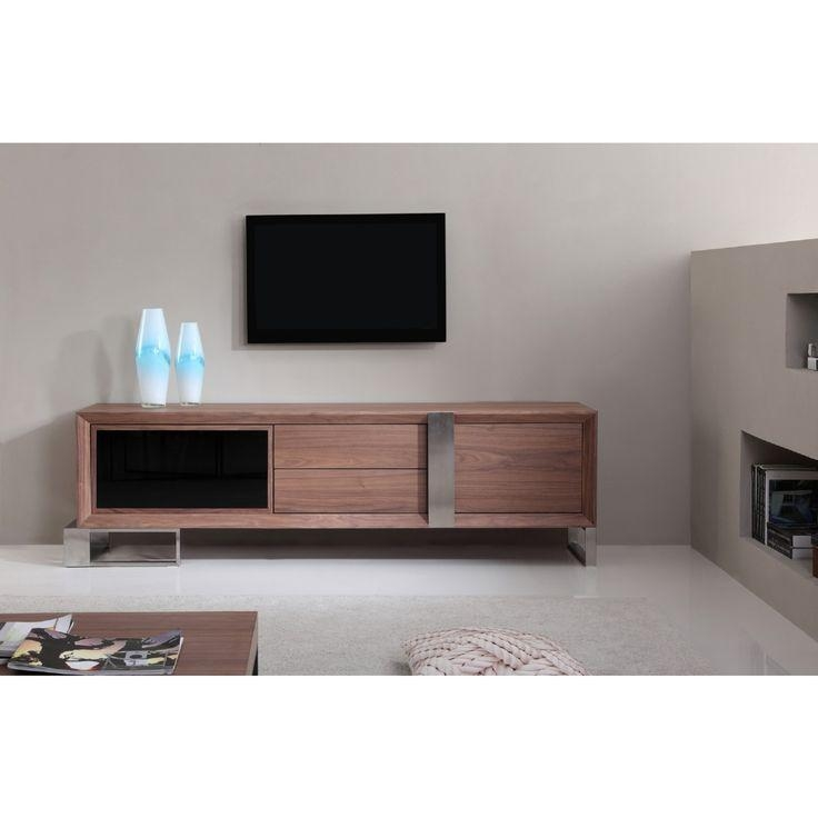 Best 25+ Contemporary Tv Stands Ideas On Pinterest | Contemporary Within Most Recent Dark Walnut Tv Stands (View 10 of 20)