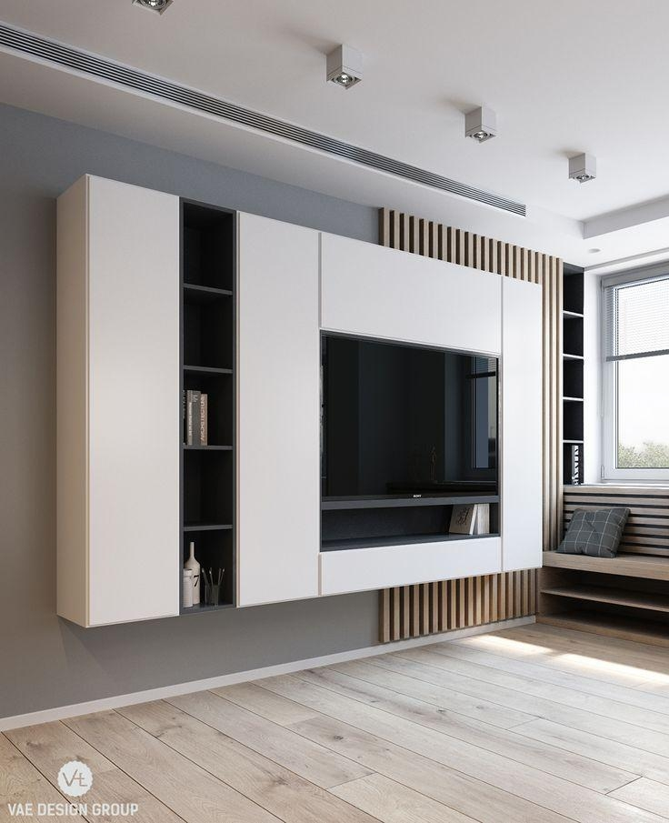 Best 25+ Contemporary Tv Units Ideas On Pinterest | Tv Feature Inside Most Recent Contemporary Tv Wall Units (Image 3 of 20)