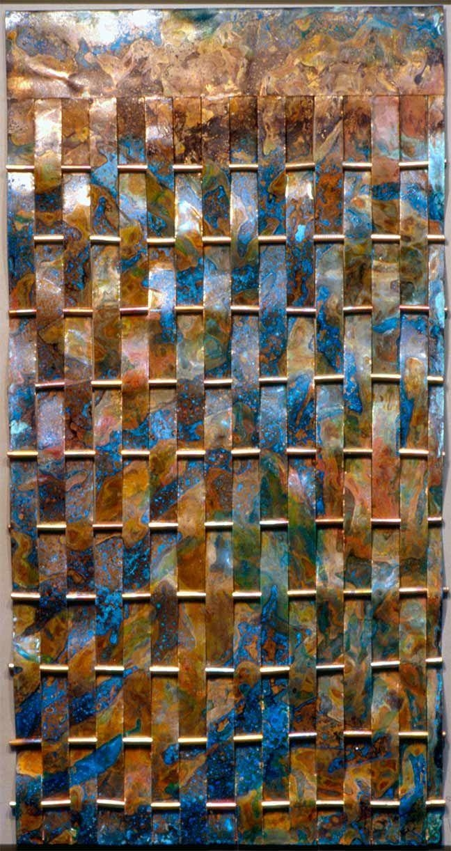 Best 25+ Copper Wall Art Ideas On Pinterest | Gold Print, Metal With Regard To Orange And Blue Wall Art (Image 7 of 20)