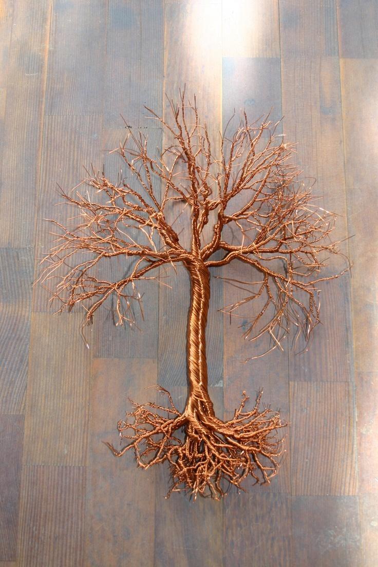 Best 25+ Copper Wire Art Ideas On Pinterest | Copper Wire, Copper Inside Copper Oak Tree Wall Art (Image 3 of 20)