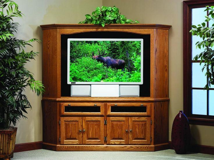 Best 25+ Corner Entertainment Centers Ideas On Pinterest | Corner Throughout Recent 50 Inch Corner Tv Cabinets (Image 8 of 20)