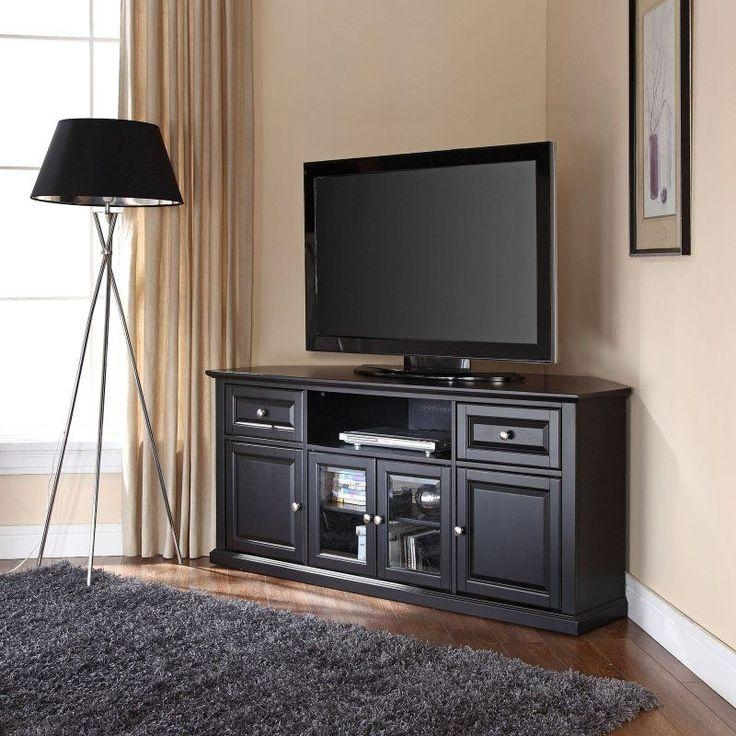 Best 25+ Corner Tv Cabinets Ideas On Pinterest | Corner Tv, Corner Pertaining To 2018 Tv Stands With Rounded Corners (View 15 of 20)