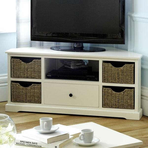 Best 25+ Corner Tv Cabinets Ideas On Pinterest | Corner Tv, Corner Regarding Most Up To Date Tv Stands With Storage Baskets (Image 4 of 20)