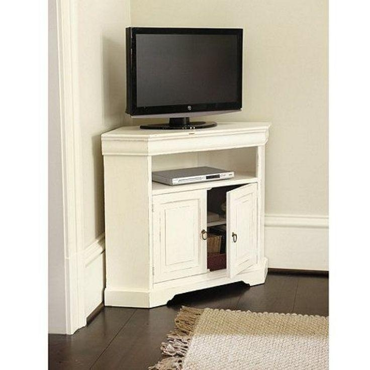 Best 25+ Corner Tv Table Ideas On Pinterest | Corner Tv, Wood With Regard To Recent Wood Corner Tv Cabinets (Image 3 of 20)