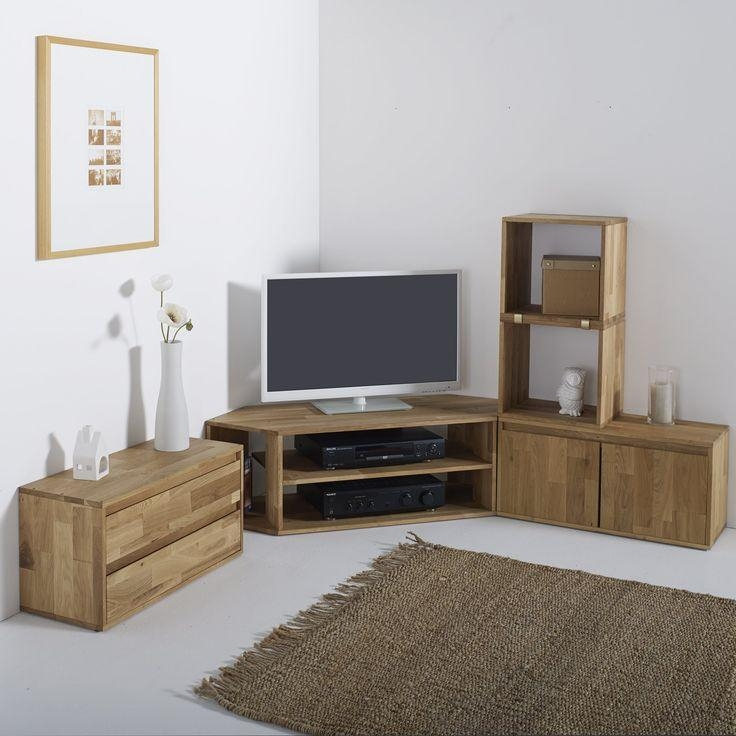 Best 25+ Corner Tv Unit Ideas On Pinterest | Corner Tv, Tv Stand Throughout Newest Large Oak Tv Stands (Image 4 of 20)