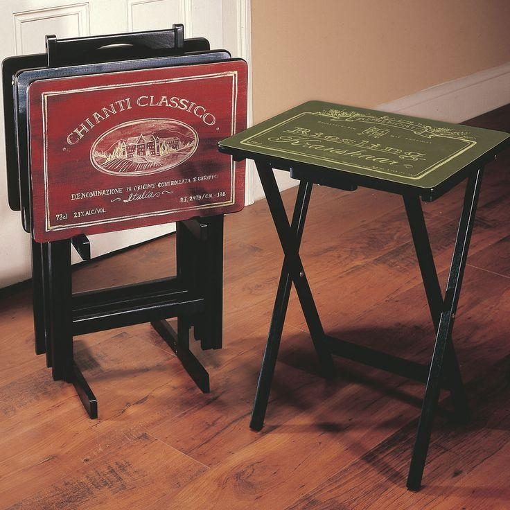 Best 25+ Craftsman Tv Trays Ideas On Pinterest | Mission Style Pertaining To Most Up To Date Folding Tv Trays With Stand (Image 3 of 20)