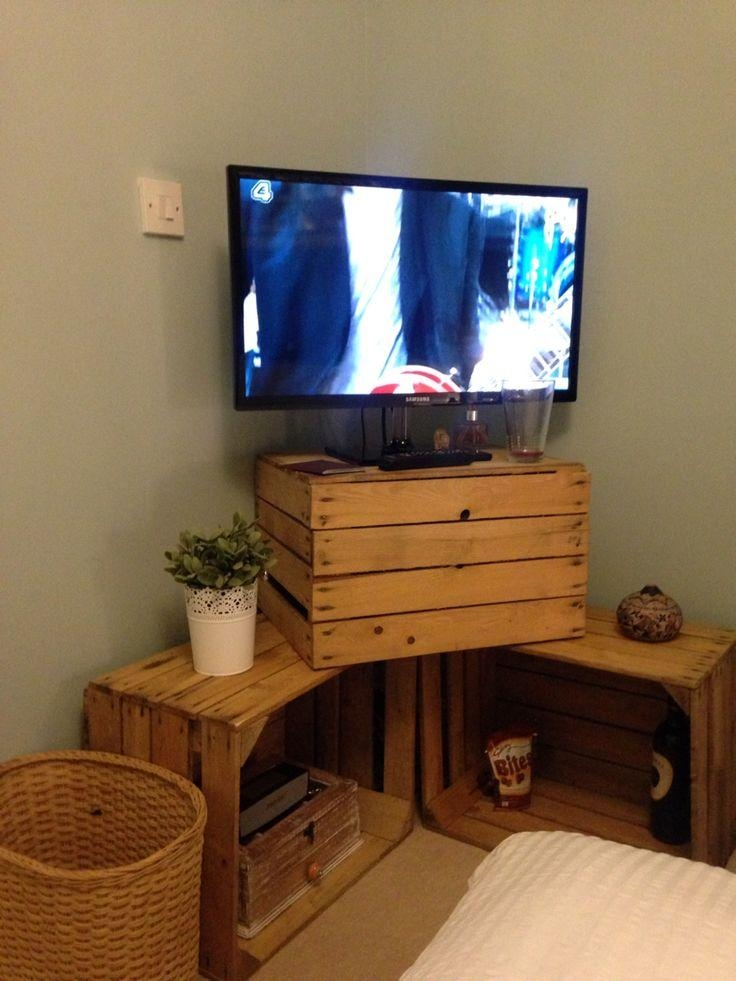 Best 25+ Crate Tv Stand Ideas On Pinterest | Diy Apartment Decor Pertaining To Current Cheap Tv Tables (Image 4 of 20)