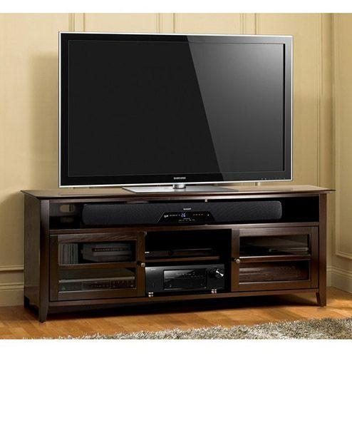 Best 25+ Dark Wood Tv Stand Ideas On Pinterest | Tvs For Dens In Most Current Dark Wood Tv Stands (Image 3 of 20)