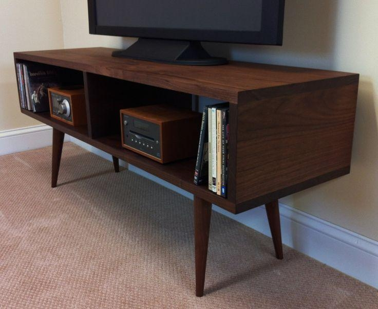 Best 25+ Dark Wood Tv Stand Ideas On Pinterest | Tvs For Dens Throughout Newest Dark Wood Tv Cabinets (Image 5 of 20)