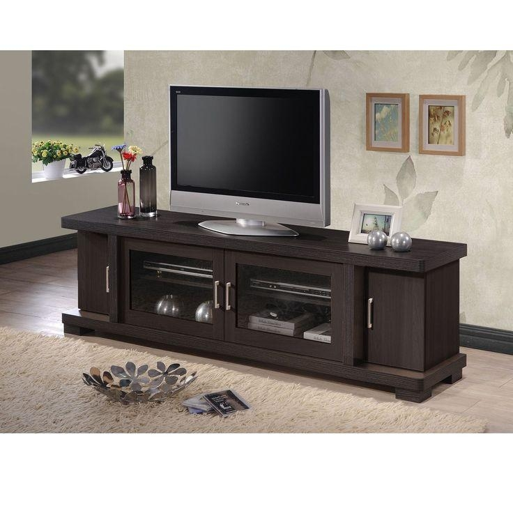 Best 25+ Dark Wood Tv Stand Ideas On Pinterest | Tvs For Dens With Current Wooden Tv Stands With Doors (View 10 of 20)