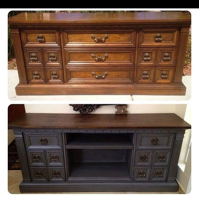 Best 25+ Dresser Tv Stand Ideas On Pinterest | Diy Furniture Redo Throughout Newest Antique Style Tv Stands (Image 8 of 20)