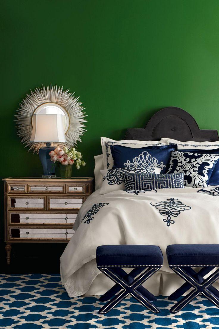 Best 25+ Emerald Green Bedrooms Ideas On Pinterest | Green Bedroom Within Wall Art For Green Walls (Image 5 of 20)