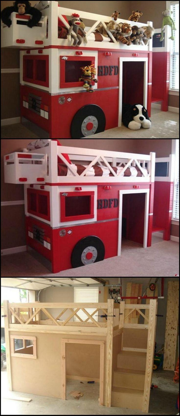 Best 25+ Fire Truck Beds Ideas On Pinterest | Weekend With The Within Fire Truck Wall Art (View 12 of 20)
