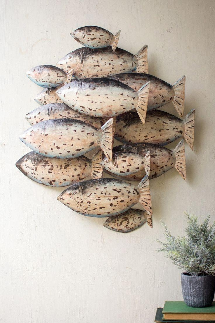 Best 25+ Fish Wall Decor Ideas On Pinterest | Fish Wall Art Throughout Metal School Of Fish Wall Art (Image 3 of 20)