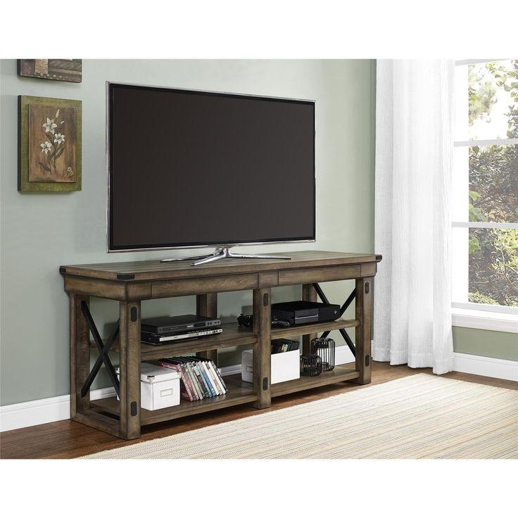 Best 25+ Flat Screen Tv Stands Ideas On Pinterest | Tv Wall Decor Intended For 2018 24 Inch Deep Tv Stands (Image 6 of 20)