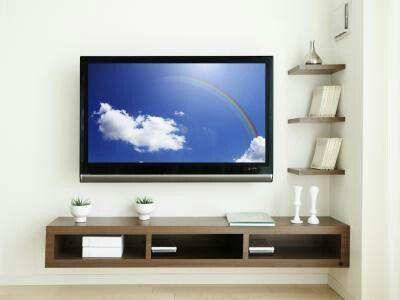 Best 25+ Floating Tv Shelf Ideas On Pinterest | Tv Shelf, Floating Regarding Most Current Under Tv Cabinets (Image 8 of 20)