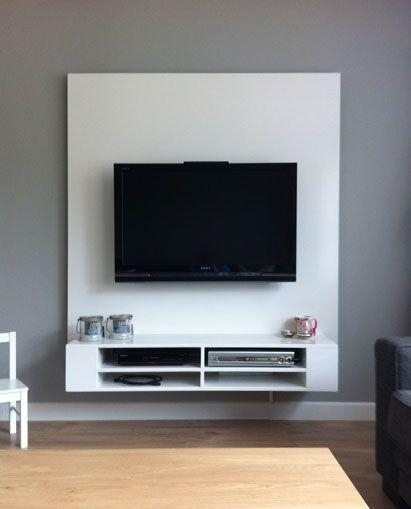 Best 25+ Floating Tv Stand Ideas On Pinterest | Tv Wall Shelves With Regard To Best And Newest Floating Glass Tv Stands (View 8 of 20)