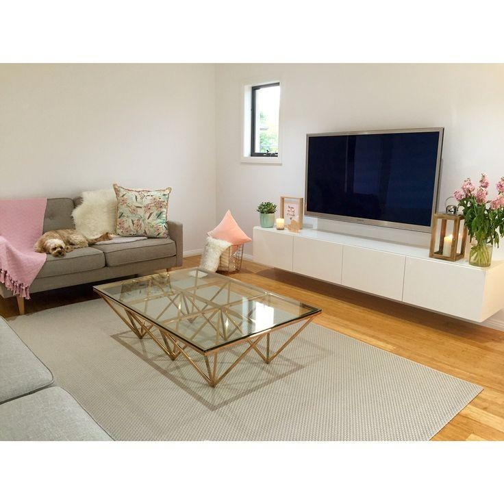 Best 25+ Floating Tv Unit Ideas On Pinterest | Floating Tv Console Inside Latest Cream Color Tv Stands (Image 7 of 20)