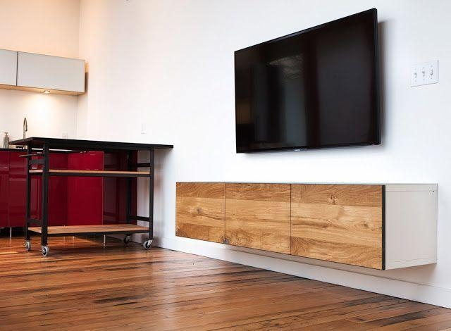 Best 25+ Floating Tv Unit Ideas On Pinterest | Floating Tv Console Within Current Wall Mounted Tv Cabinet Ikea (View 20 of 20)