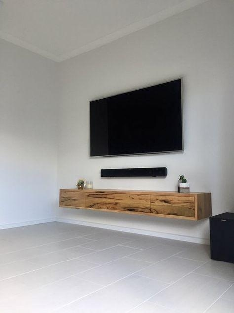 Best 25+ Floating Tv Unit Ideas On Pinterest | Floating Tv Stand Throughout 2018 Floating Tv Cabinet (Image 8 of 20)