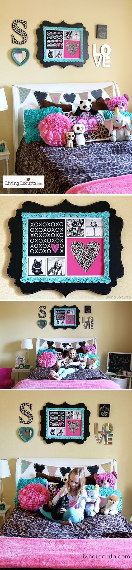 Best 25+ Girls Bedroom Decorating Ideas On Pinterest | Girls Intended For Inspirational Wall Art For Girls (Image 5 of 20)