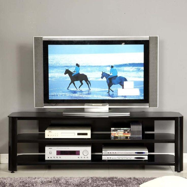 Best 25+ Glass Tv Stand Ideas On Pinterest | Glass Tv Unit, Tv With Regard To Current Swivel Black Glass Tv Stands (Image 9 of 20)
