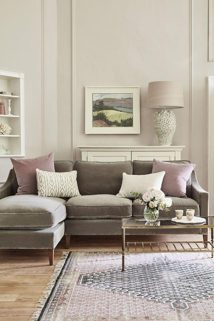 Best 25+ Grey Sofas Ideas On Pinterest | Grey Sofa Decor, Love Regarding Sofas With Lights (Image 1 of 21)