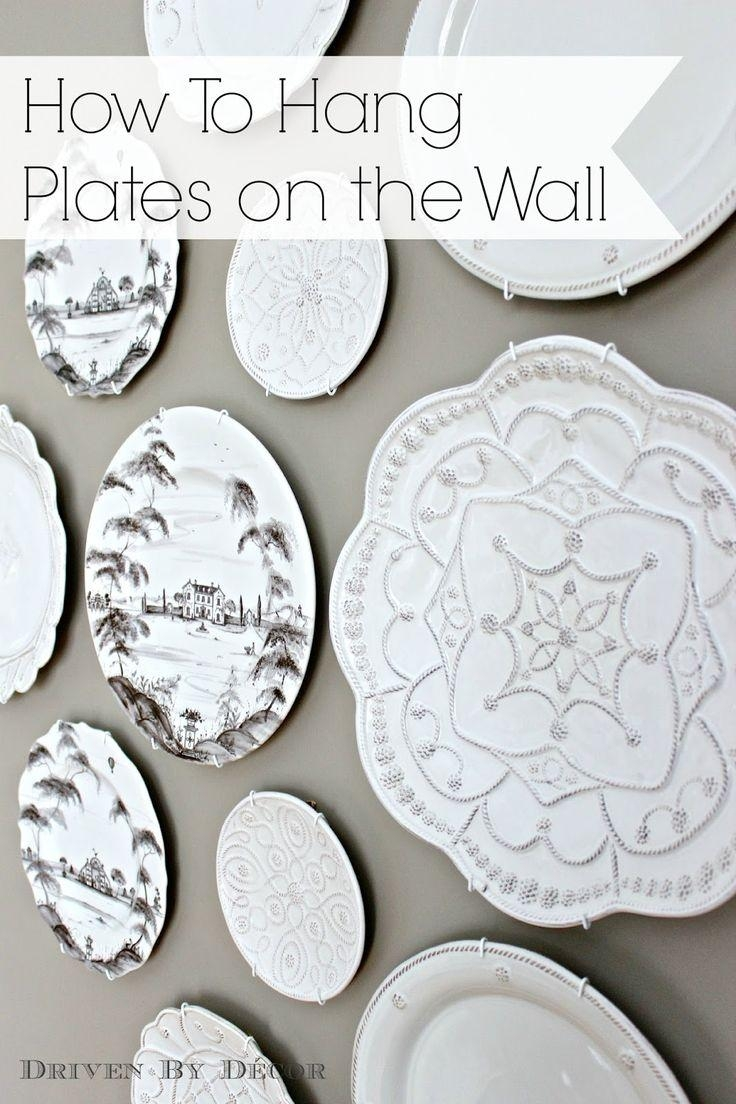 Best 25+ Hanging Plates Ideas On Pinterest | Plates On Wall, Plate With Regard To Italian Plates Wall Art Sets (Image 1 of 20)