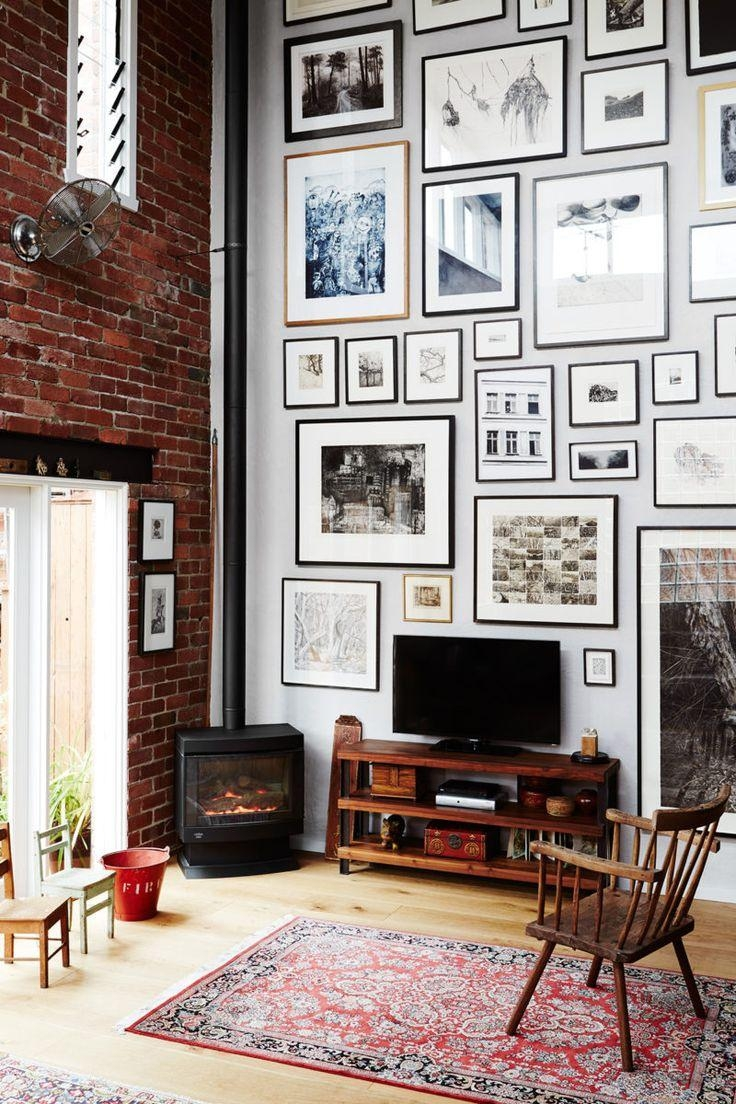 Best 25+ High Ceiling Decorating Ideas On Pinterest | High Inside Hanging Wall Art For Brick Wall (Image 7 of 20)