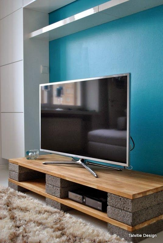 Best 25+ Homemade Tv Stand Ideas On Pinterest | Tv Console Tables Inside Most Current Cheap Tv Tables (Image 6 of 20)