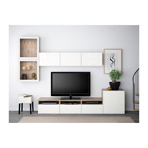 Best 25+ Ikea Tv Ideas On Pinterest | Ikea Tv Stand, Ikea White Within Current Ikea White Gloss Tv Units (Image 2 of 20)