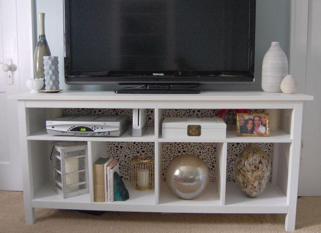 Console pour entre ikea best tv bench white greygreen for Console modulable ikea