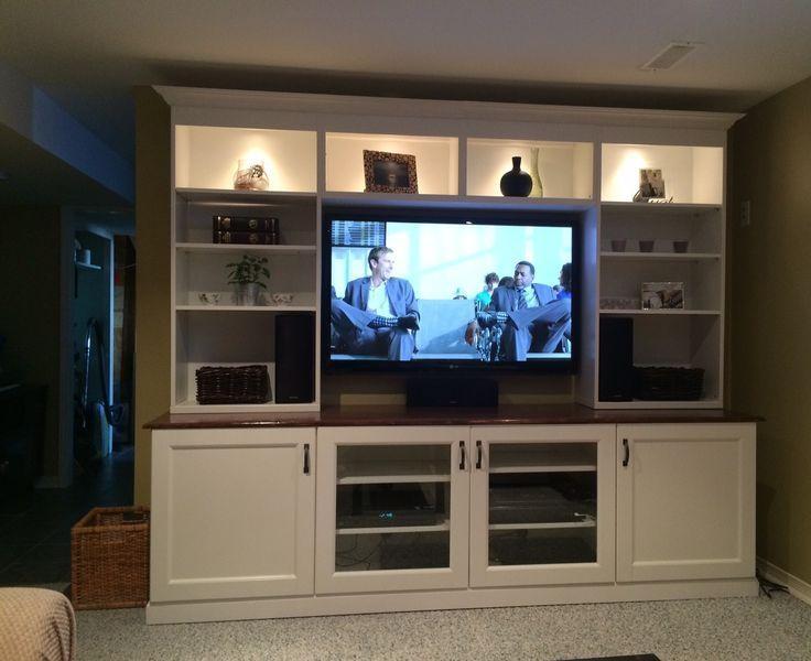 Best 25+ Ikea Tv Wall Unit Ideas On Pinterest | Tv Shelf Unit Regarding Recent Wall Mounted Tv Cabinet Ikea (View 5 of 20)