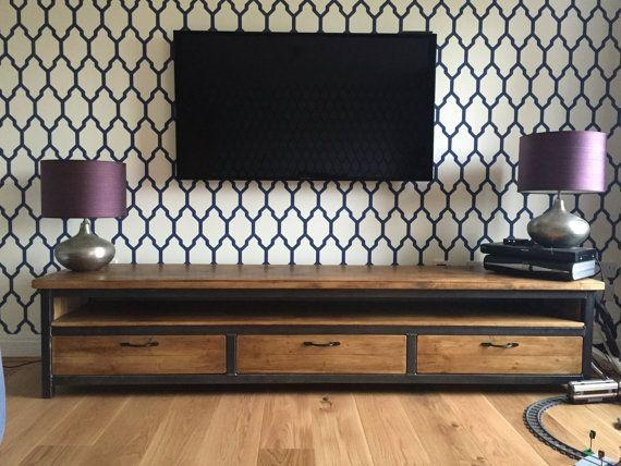 Best 25+ Industrial Tv Stand Ideas On Pinterest | Industrial Tv Regarding 2018 Industrial Style Tv Stands (Image 8 of 20)