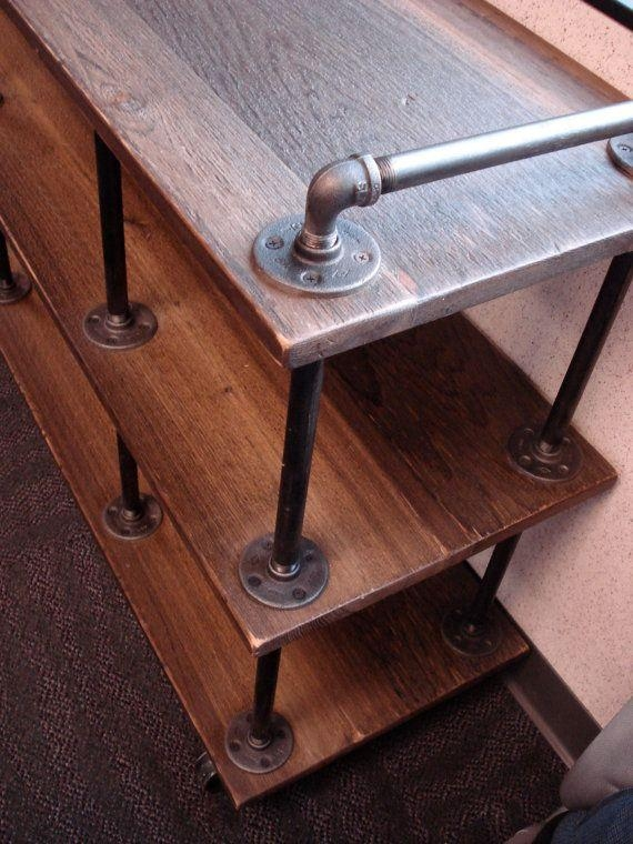 Best 25+ Industrial Tv Stand Ideas On Pinterest | Tv Table Stand Inside Current Cast Iron Tv Stands (Image 3 of 20)