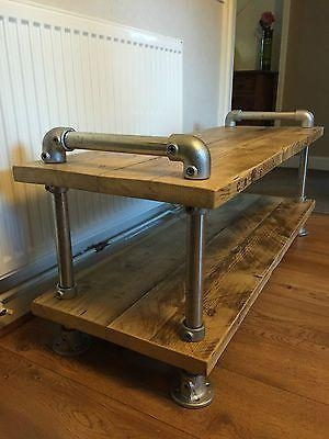 Best 25+ Industrial Tv Stand Ideas On Pinterest | Tv Table Stand Pertaining To Newest Industrial Tv Cabinets (Image 5 of 20)
